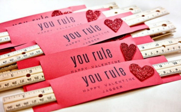 DIY Valentines - Rulers Relocated Living