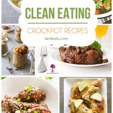 Make clean eating as easy as possible with these delicious crock pot recipes. Set it and go! #cleaneating #crockpotrecipes #healthyeating #healthyrecipes