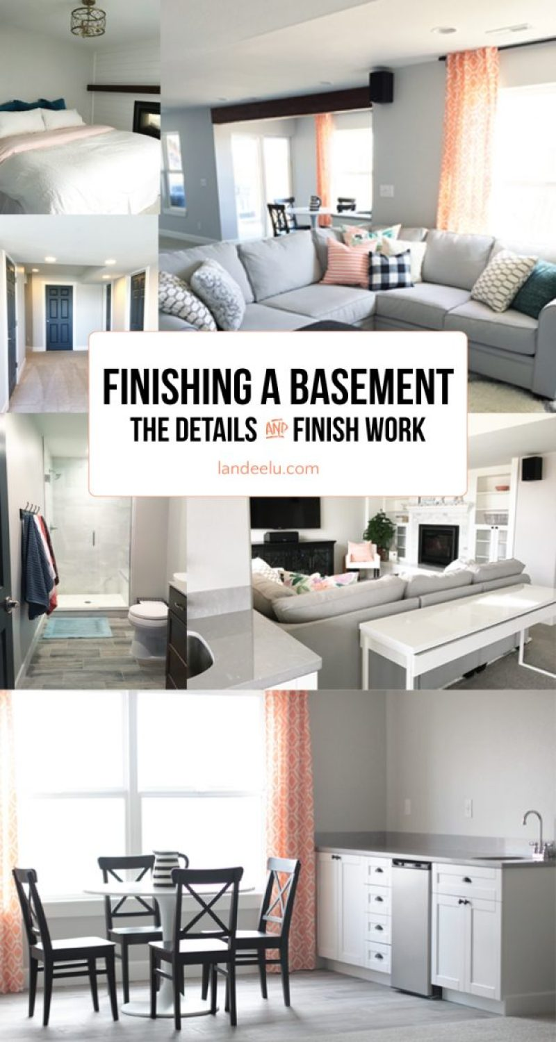 Tips and Great Advice for Finishing a Basement! Make your home improvement project go smoother with these tips for DIY and hiring out the work. Lots of cost cutting tips to save you money and time! landeelu.com