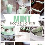 Mint Desserts and Treats-- the Yummiest Way to GO GREEN! | landeelu.com