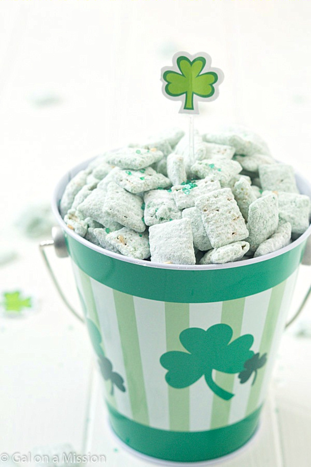 St.-Patricks-Day-Puppy-Chow- Gal on a Mission