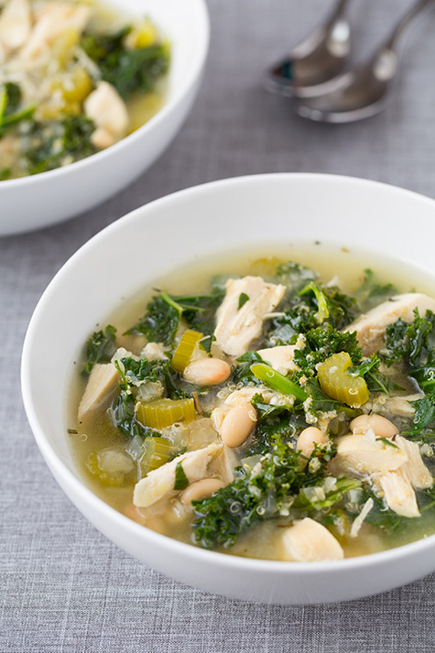 slow-cooker-quinoa-chicken-and-kale-soup cooking classy