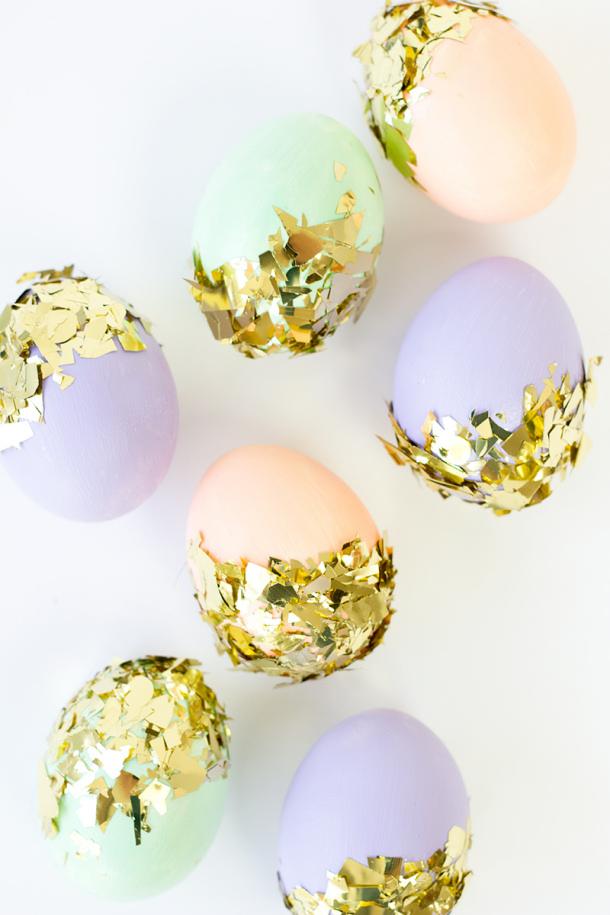 DIY-Confetti-Dipped-Easter-Eggs Studio DIY