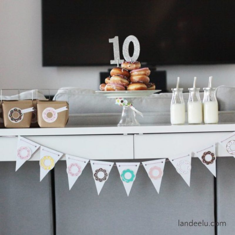 Donut Party Decor