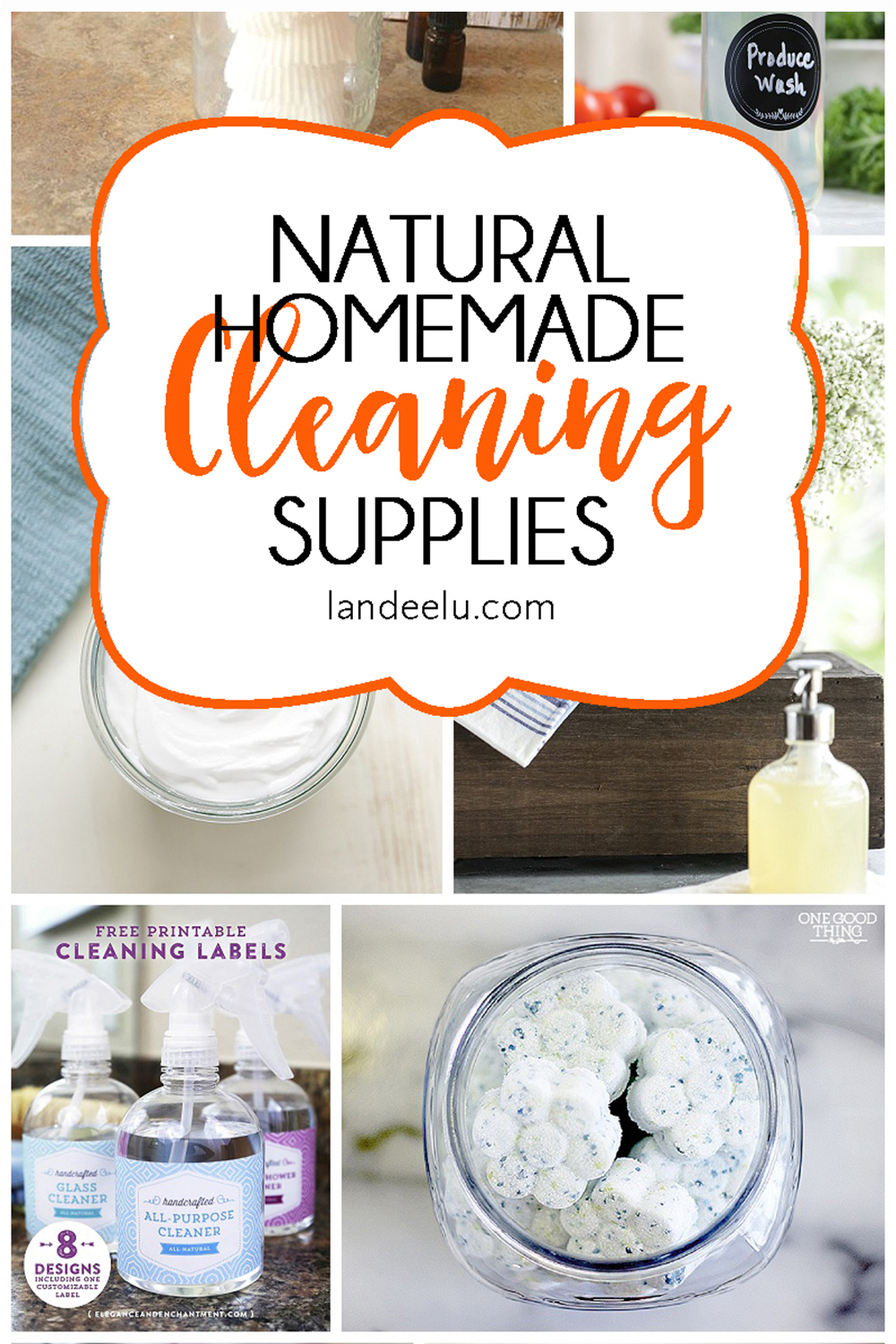 I love the idea of homemade cleaning products ... non-toxic, natural and less expensive. #naturalcleaners #homemadecleaners #homemadecleaningproducts #diycleaners