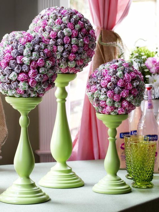 Lollipop Topiaries DIY Network