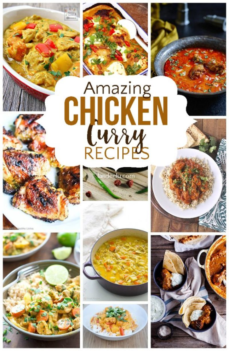So many chicken curry recipes your family will love!