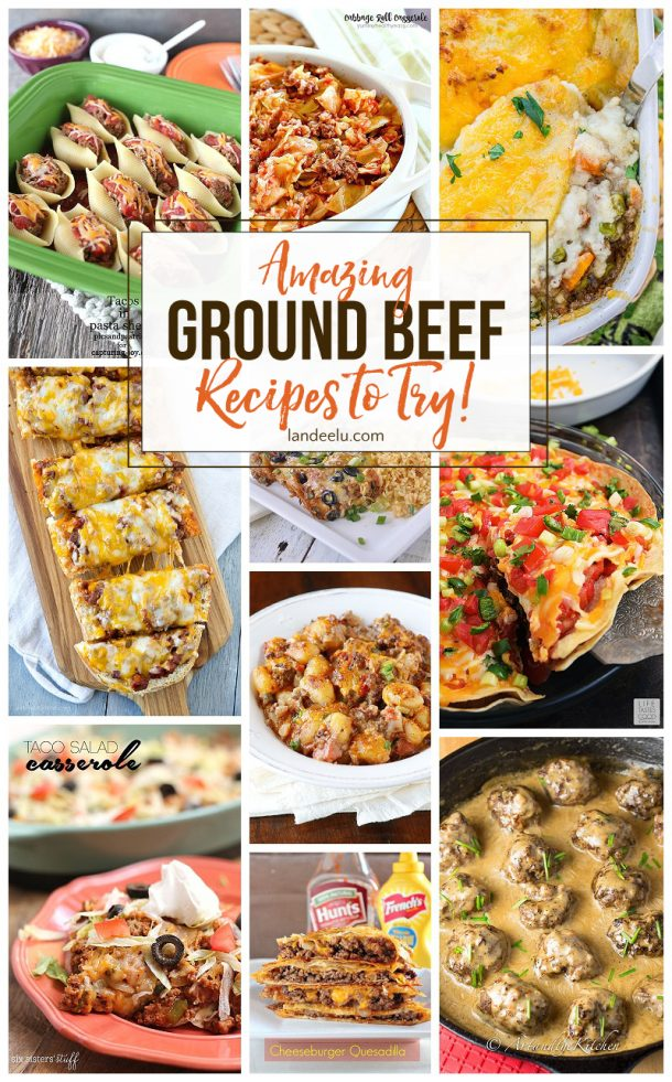 Amazing ground beef recipes to try for Hamburger dinner ideas for tonight