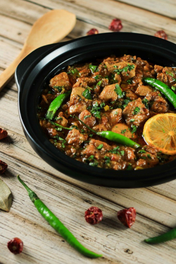 Chicken Curry Recipe - Authentic Indian Chicken Karahi Curry Recipe via Scrambled Chefs