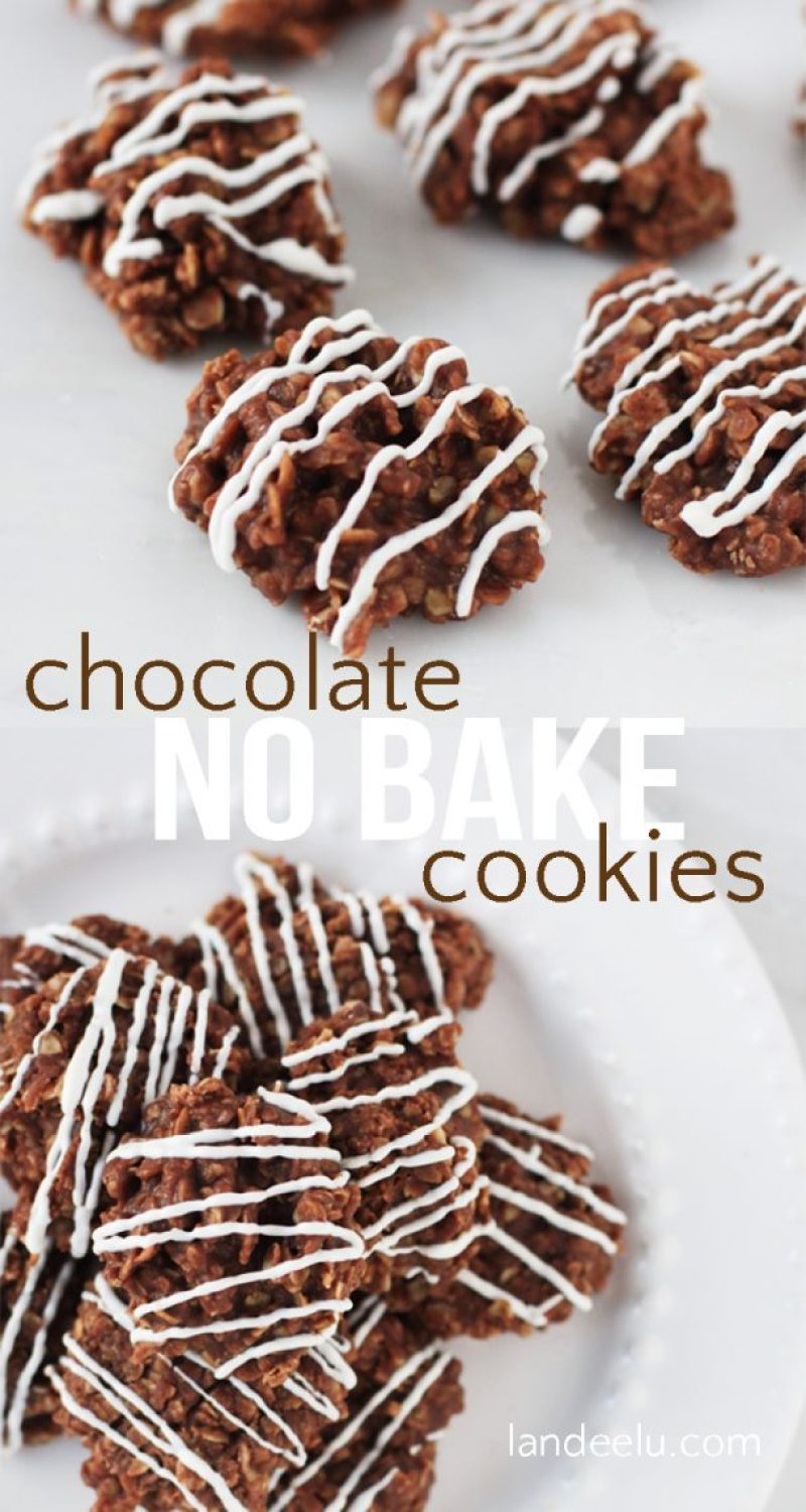 Classic no bake cookies just like mom used to make! I LOVE these!