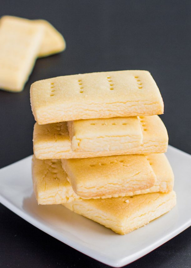 Classic Shortbread Cookies Recipe via Jo Cooks - These are so yummy and melt in your mouth!