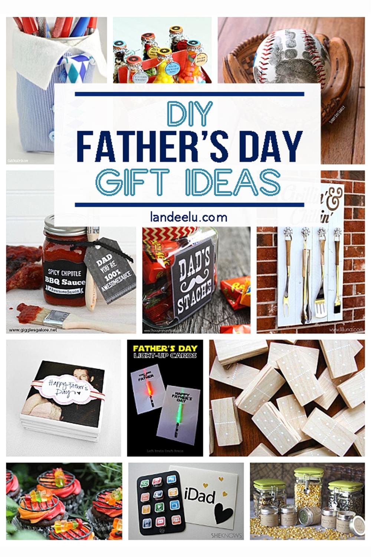 21 Diy Father S Day Gifts To Celebrate Dad Landeelu Com