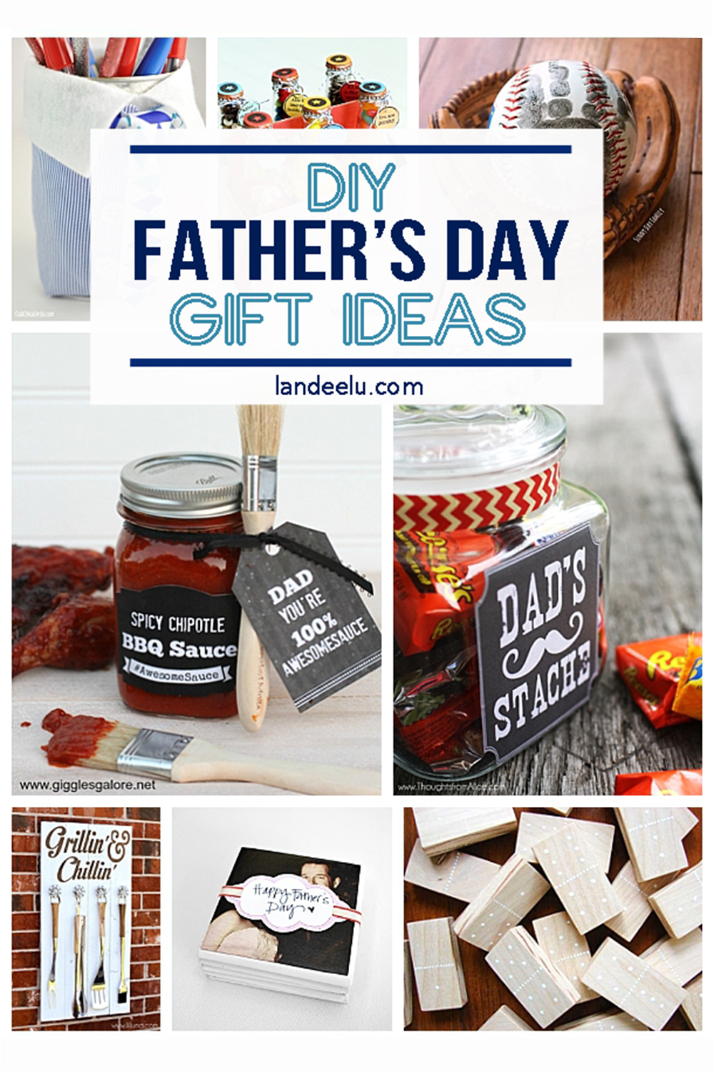 21 DIY Father's Day Gifts for Dad that he's going to love! #fathersday #fathersdaygiftideas #giftideas #giftsfordad #fathersdayideas