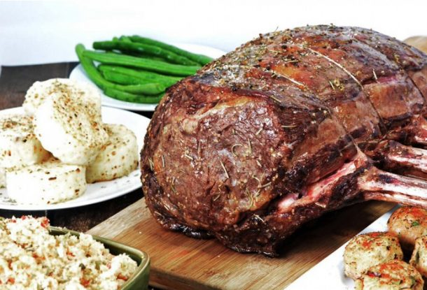 Beef Recipes - Melt in Your Mouth Prime Rib Recipe - Perfect for Sunday Family or Holiday Dinner - via Foodie and Wine