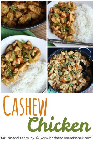 Cashew Chicken Collage LandeeLu