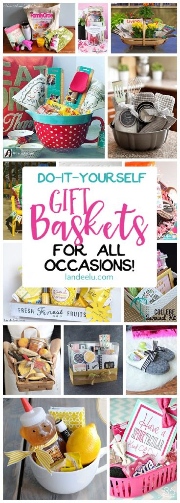 Do it yourself gift basket ideas for all occasions landeelu put together a gift basket for any occasion and make someones day easy do it solutioingenieria Choice Image