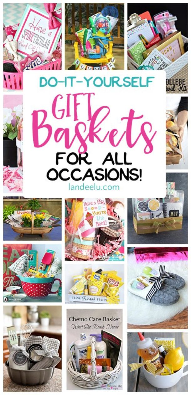 Do it yourself gift basket ideas for all occasions landeelu put together a gift basket for any occasion and make someones day easy do it solutioingenieria Image collections
