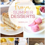 Cool off this summer with these delicious frozen summer desserts! Super yummy and refreshing! #summerdesserts #frozendesserts #freezerdesserts #desserts #dessertrecipes