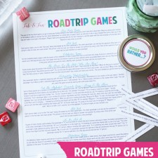 Road Trip Games for Teens and Tweens | landeelu.com Tons of great ideas to get you interacting with your teens as well as an awesome DIY Would You Rather Game! #roadtrip #cargames #roadtripgames #roadtriptips #travel #familytravel