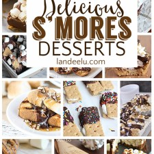 I love s'mores and can't wait to try all of these smores dessert recipes! #smores #dessert #dessertrecipes #creativedesserts