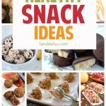 Healthy recipes for snacks! I'm always looking for good healthy snack ideas!