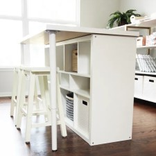 IKEA Hack: Craft Room Work Table