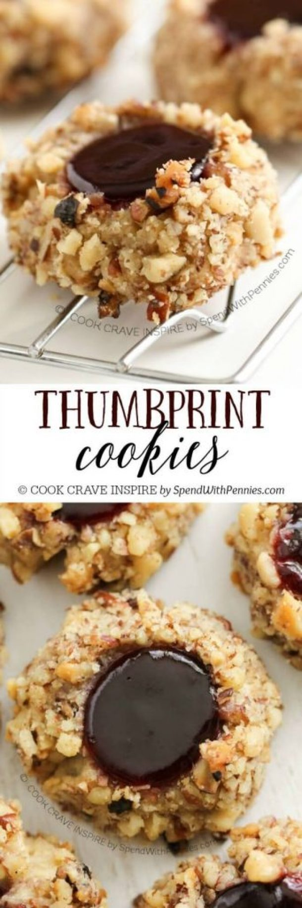 Classic Thumbprint Cookies Recipe | Spend With Pennies