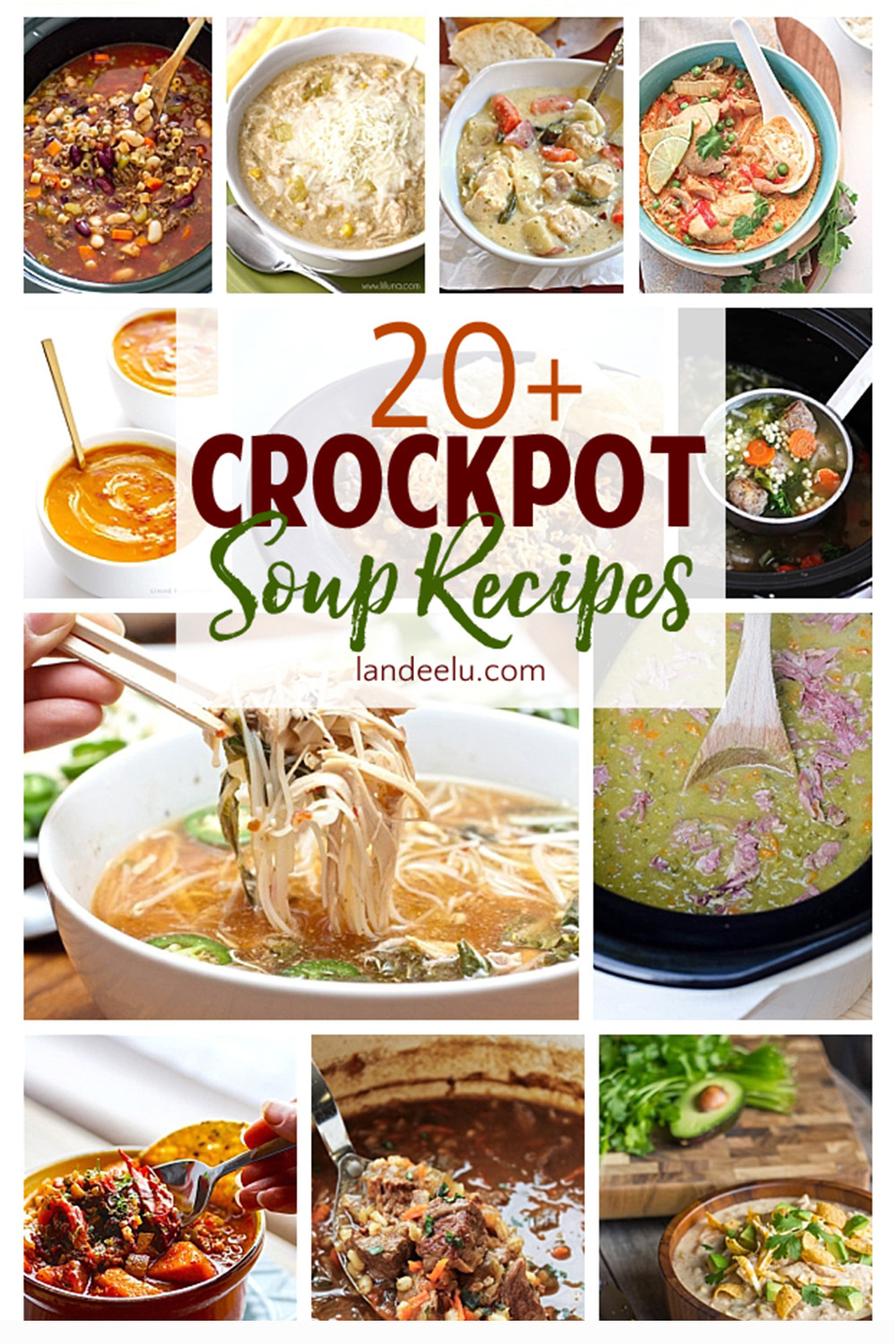 Crockpot Soup Recipes Perfect For Fall Landeelu Com