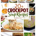 Delicious crockpot soup recipes to warm up your family this season. I love crockpot meals! #crockpotsoup #slowcooker #souprecipes #fallrecipes #soup