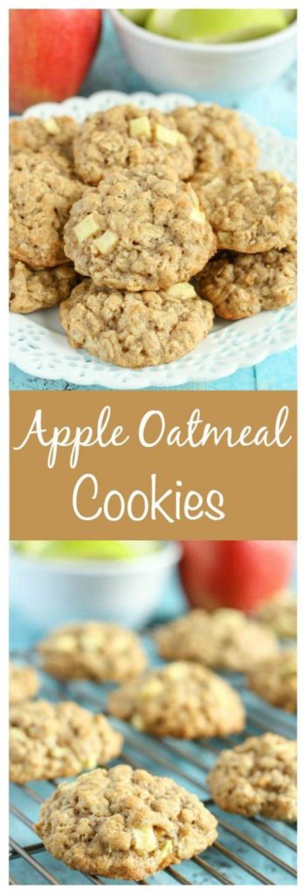 Apple Oatmeal Cookies Recipe | Live Well Bake Often - Apple Recipes