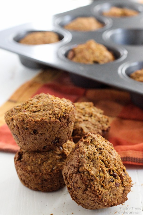 Healthy Pumpkin Muffins Recipe | Landeelu