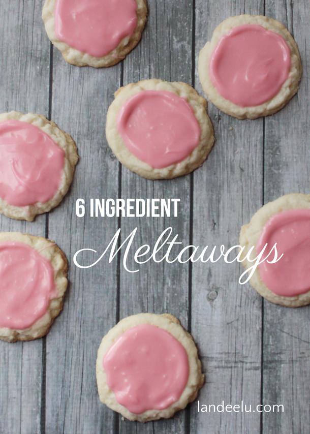 6 Ingredient Meltaway Sugar Cookies Recipe | Landeelu