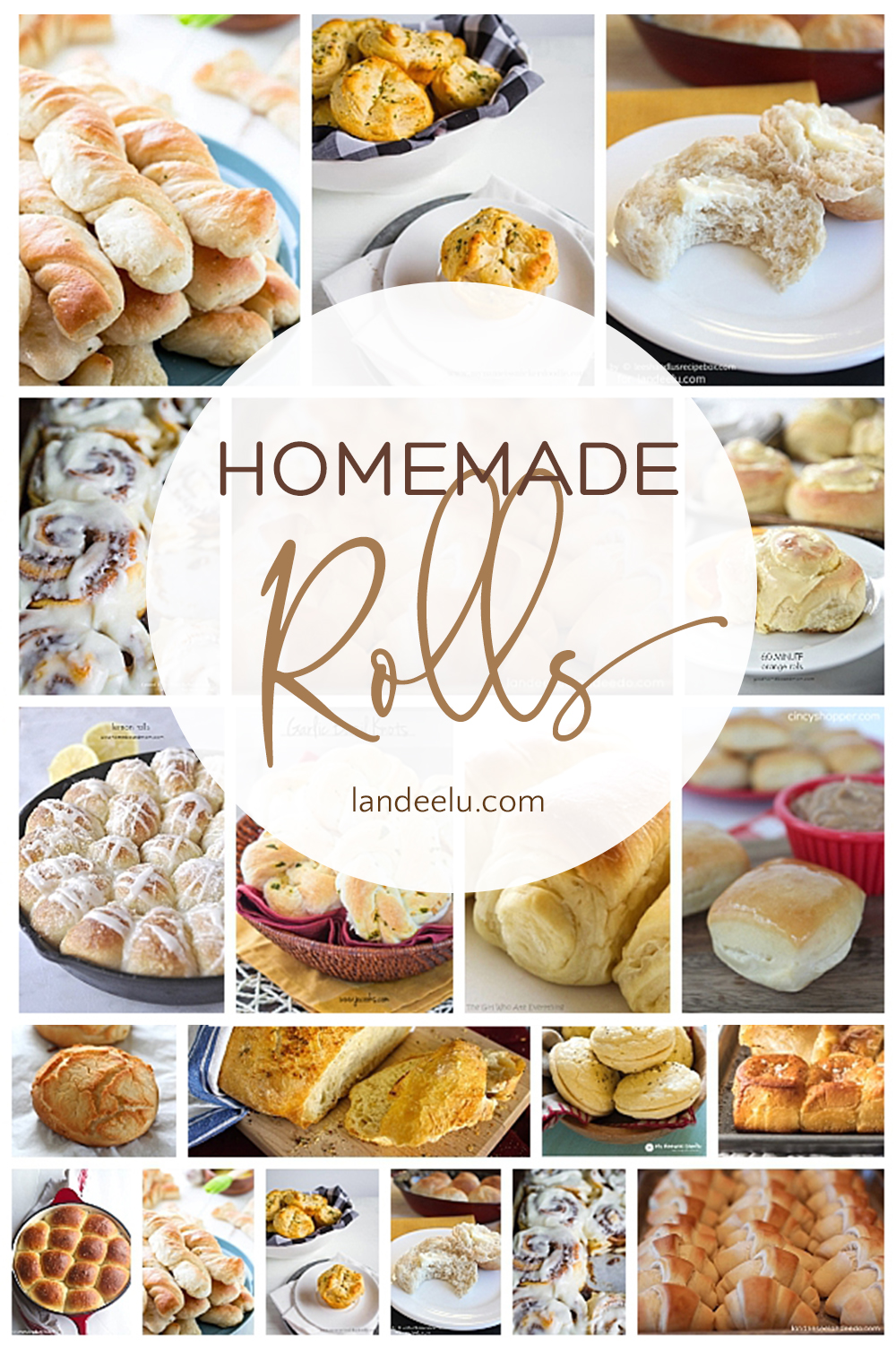 Dinner rolls are the things dreams are made of! Tons of amazing dinner roll recipes! #dinnerrolls #dinnerrollrecipe #homemaderolls #homemadedinnerrolls