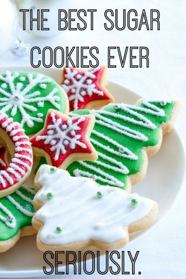 The BEST Holiday Sugar Cookies Ever :: Seriously (According to her Mother in Law) | It's Fitting