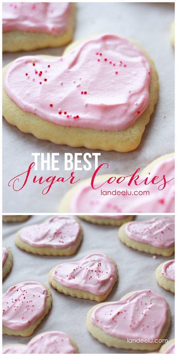 The BEST Sugar Cookie Recipe | Landeelu