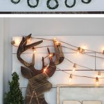 Christmas Mantel Decor: Peace