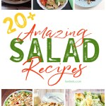 So many delicious salad recipes! #salad #saladrecipes #healthyrecipes #recipes