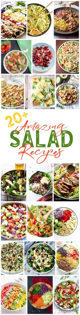 So many delicious salad recipes!