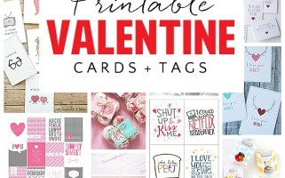 Tons of darling Valentine's Day Cards and Tags!