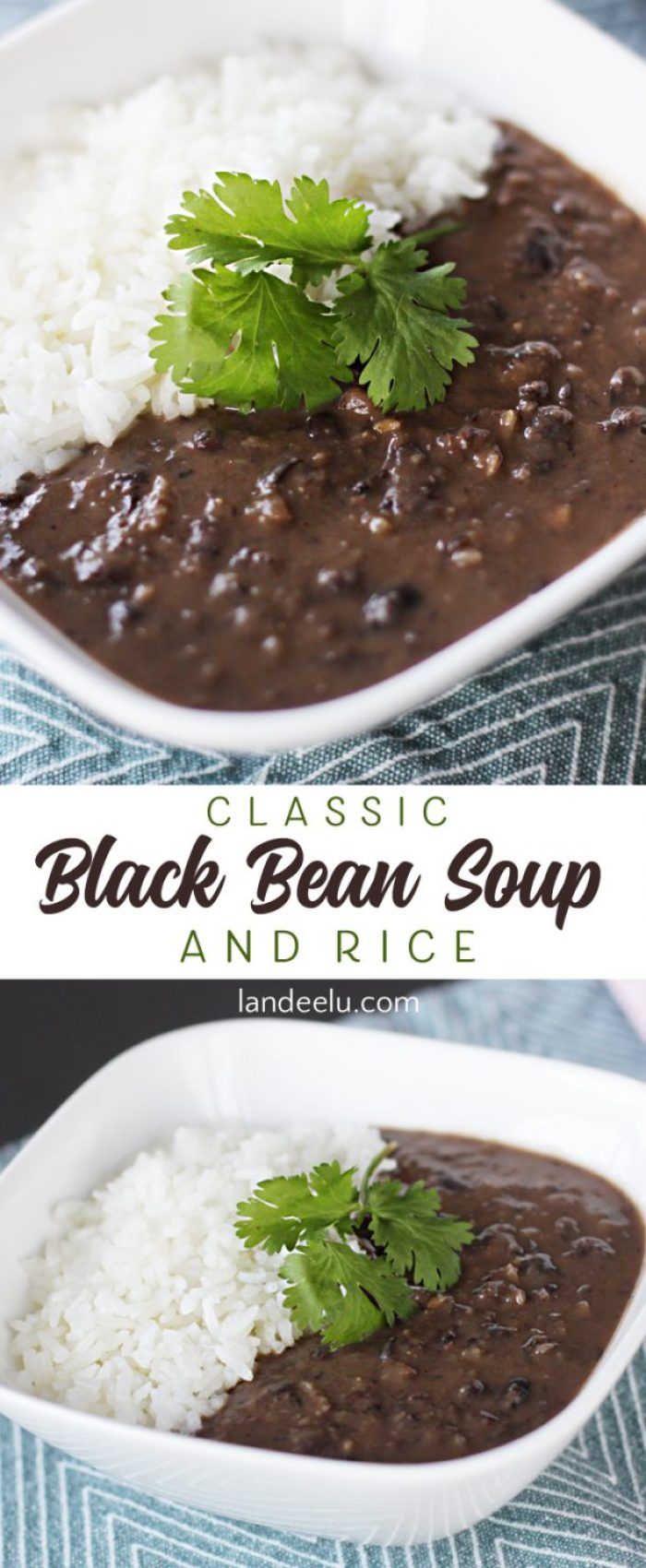 The classic black bean soup recipe you've been looking for!