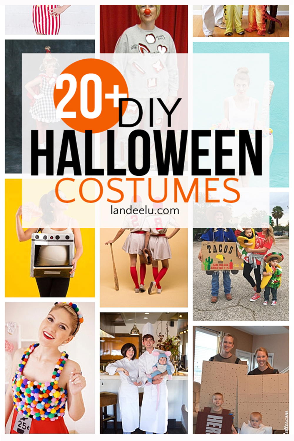 So many fun DIY halloween costumes! Family Halloween costume ideas too! #diyhalloween #halloweencostumes #halloweenideas #halloweencostumeideas #halloween