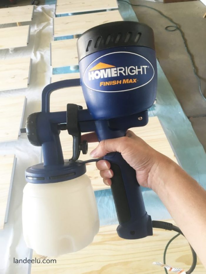 This Home RIght paint sprayer is awesome and so user-friendly! Easy to clean and makes any paint job a cinch!
