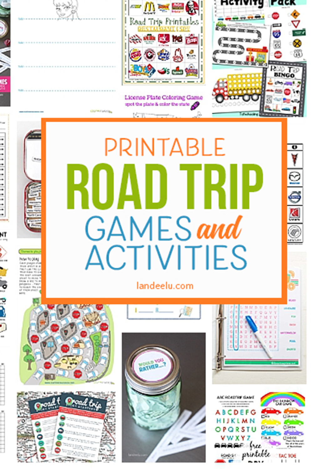 picture relating to Fun Printable Games referred to as Printable Motor vehicle Video games for Children: A Really should for Your Subsequent Highway Vacation