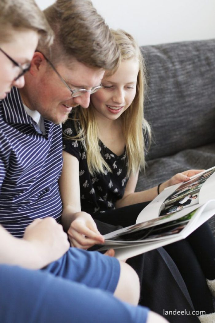 Looking for an easy Father's Day gift idea? Upload your photos and let Shutterfly do the designing with their Make My Book service! Easy way to make a personalized and touching Father's Day gift!