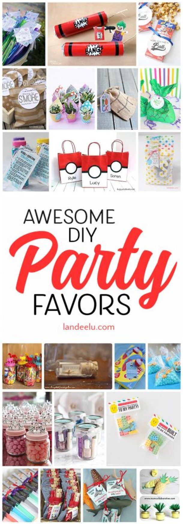 Easy DIY Party Favors Your Guests Will LOVE! - landeelu.com