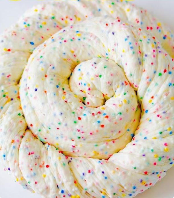 Edible Marshmallow Birthday Cake Slime Video Tutorial | Fast Fun Fix Friday Make this easy birthday cake slime with lovely notes of vanilla. This edible slime only requires three ingredients to make!