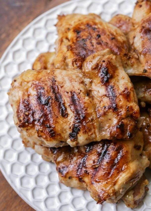 Grilled Huli Huli Chicken Recipe via lil' luna - the juiciest and most delicious Hawaiian chicken you'll ever try! Great alone or served on rice or noodles!!