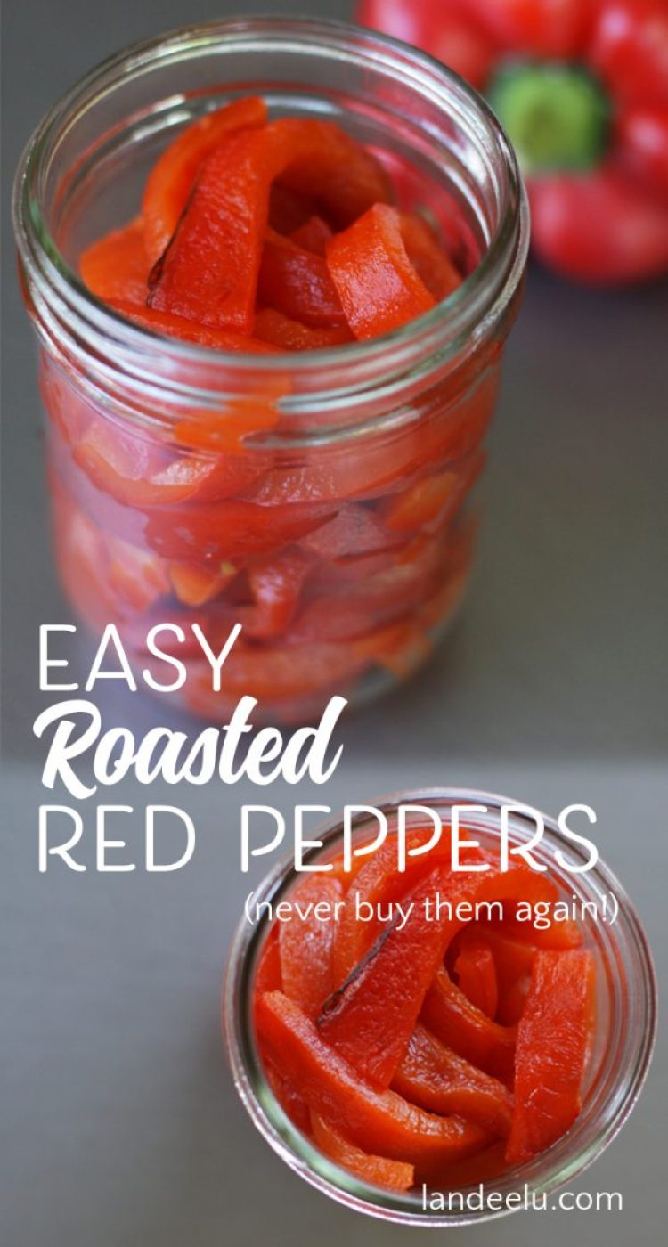 I will never buy roasted red peppers again! So easy and so good!