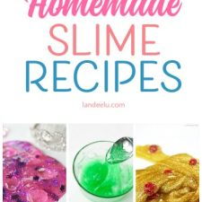 Homemade Slime Recipe Ideas to Try!