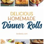 Dinner rolls are the things dreams are made of! Tons of amazing dinner roll recipes!